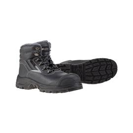 Pašiltinti darbo batai, juodi, 42 dydis