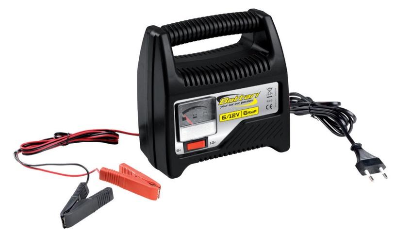 Зарядное устройство Bottari 28107, 12 В, 6 а