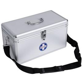Songmics Aluminium Organizer Box 40x20.5x22.5cm Silver