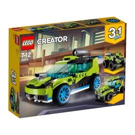 Konstruktor LEGO Creator, Rakettralliauto 31074