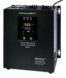 Adapter Qoltec Pure Sine Wave Solar Inverter 53890, 1.5 A, 240 V