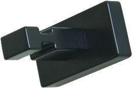 Inda A1820ANE Clothes Hanger 1-Hook Black
