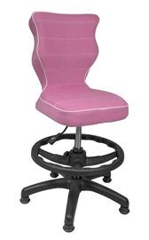 Entelo Petit Black HC+F Size 4 Children Chair VS08 Pink