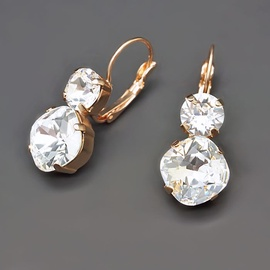 Diamond Sky Earrings Glare VI Swarovski Crystals