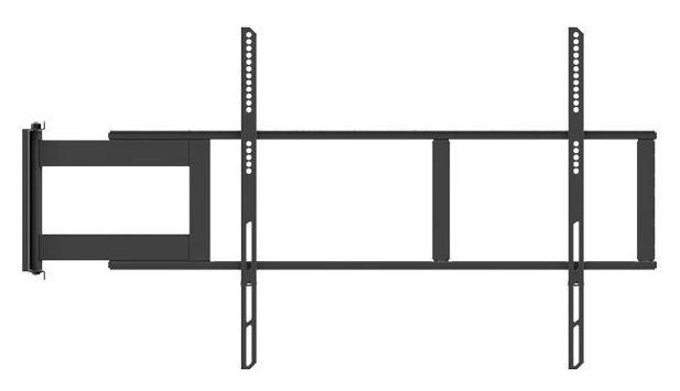 "Multibrackets Universal Swing Arm 48-69"" Black"
