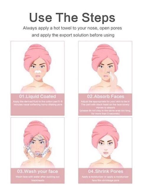 Niveda USB Vacuum Facial Skin Cleanser