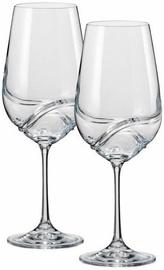 Bohemia Turbulence Wine Glass Set 2pcs 55cl