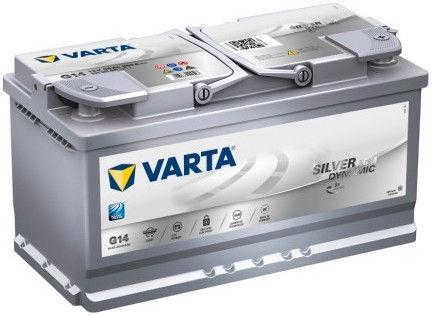 Аккумулятор Varta AGM G14, 12 В, 95 Ач, 850 а