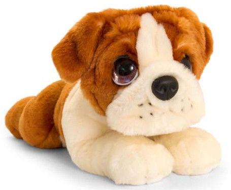 Keel Toys Dog Buldog 32cm