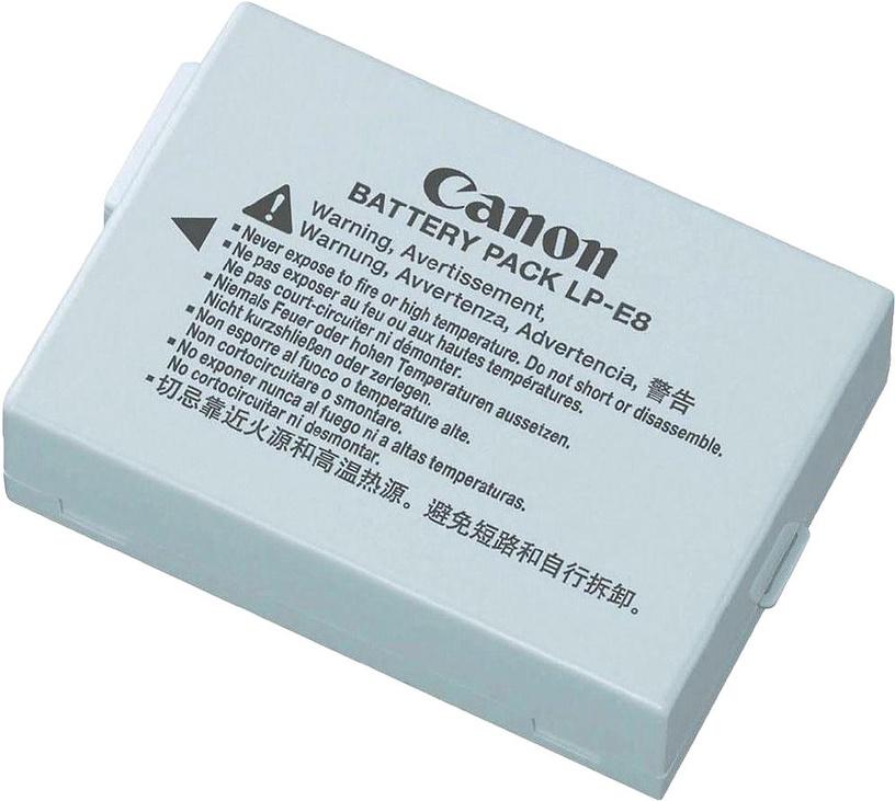 Aku Canon LP-E8 Lithium-Ion Battery 1120mAh