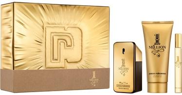 Набор для мужчин Paco Rabanne 1 Million 50 ml EDT + 100 ml Shower Gel + 10 ml EDT