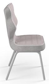 Детский стул Entelo Solo CR08, розовый/серый, 340 мм x 775 мм