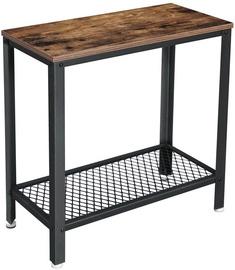 Kafijas galdiņš Songmics, sudraba, 600x300x600 mm