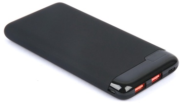 Uzlādēšanas ierīce – akumulators Estuff, 10000 mAh, melna/pelēka