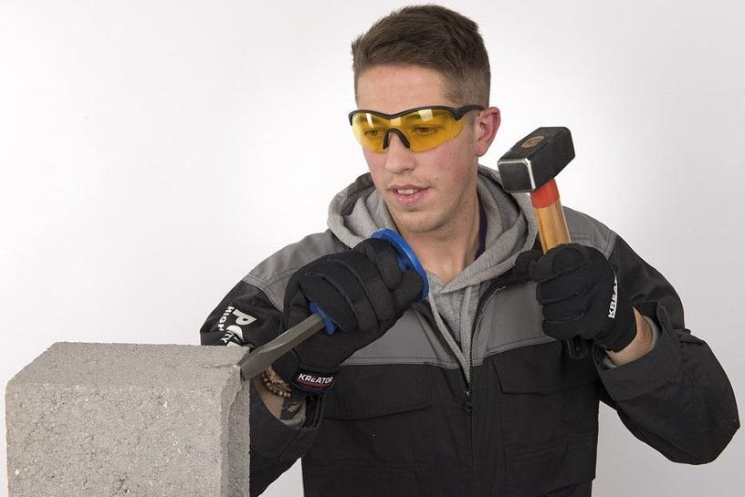 Kreator KRTS30008 Safety Glasses Yellow