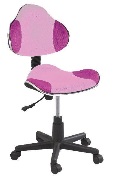 Biroja krēsls Signal Meble Q-G2 Pink