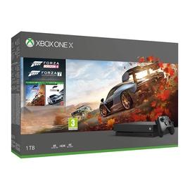 Žaidimų konsolė Microsoft Xbox One X, 1Tb + Forza Horizon 4