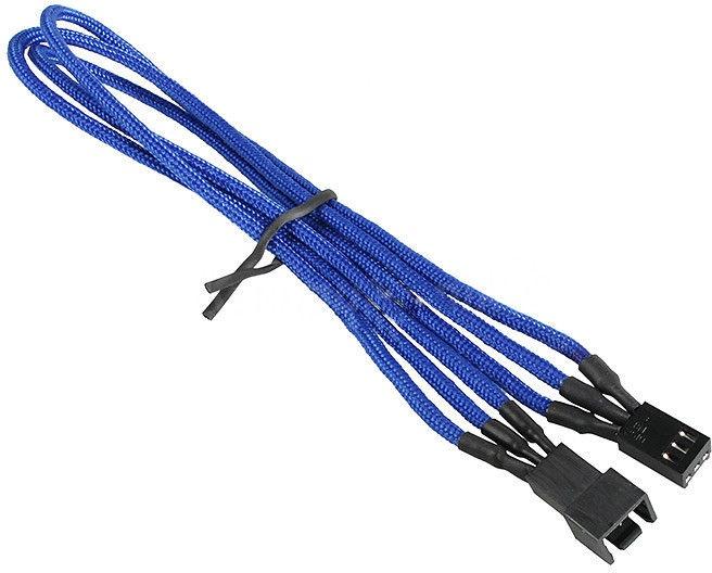 BitFenix 3-Pin Extension Cable 30cm Blue/Black