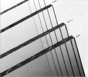 Organinis stiklas GPPS, 500 x 1500 x 2 mm