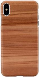 Чехол Man&Wood Cappuccino Back Case For Apple iPhone XS Max, белый