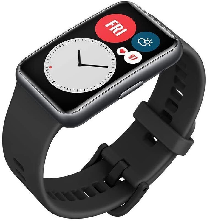 Išmanusis laikrodis Huawei Watch Fit, juoda