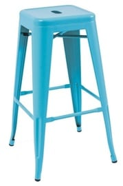 Signal Meble Long Bar Stool Blue