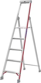 Hymer Step Ladder with Platform Single-Sided 6-Steps