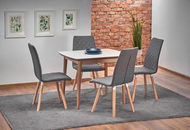 Pusdienu galds Halmar Barret White Matt/Oak, 900 - 1900x800x750 mm