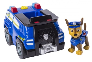 Spin Master Vehicle With Figure Paw Patrol Chase Transforming Police Cruiser