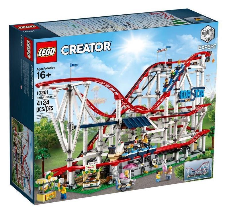 Конструктор LEGO Creator Roller Coaster 10261 10261, 4124 шт.
