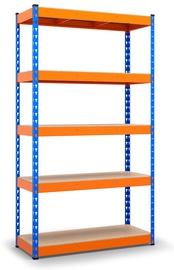 Sandėliavimo lentyna Vagner SDH MKP403/2F, 160 x 50 x 216 cm, 5 lentynos