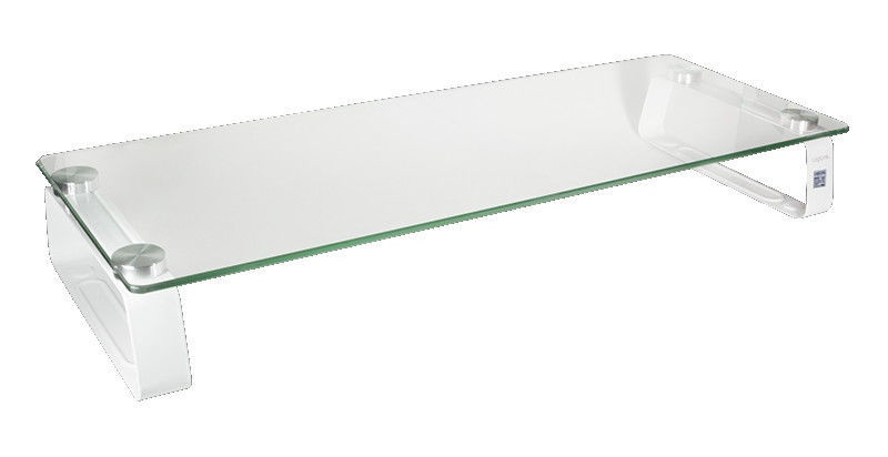 LogiLink BP0027 Glass Tabletop Monitor Riser