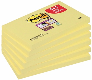 3M Post It 655-P6SSCY-EU Sticky Notes Yellow