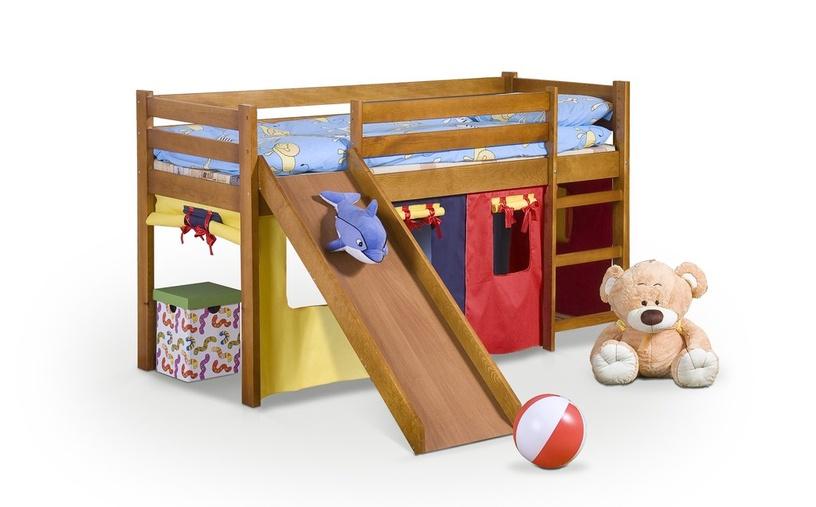 Двухъярусная кровать Halmar Neo Plus, сосновый, 197x89 см