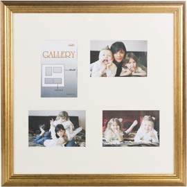 Victoria Collection Photo Frame Ema Gallery 40x40 4x 10x15 Gold