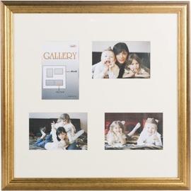 Фоторамка Victoria Collection Photo Frame Ema Gallery 40x40 4x 10x15 Gold