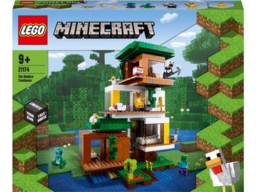Konstruktor LEGO Minecraft Moodne puuonn 21174, 909 tk