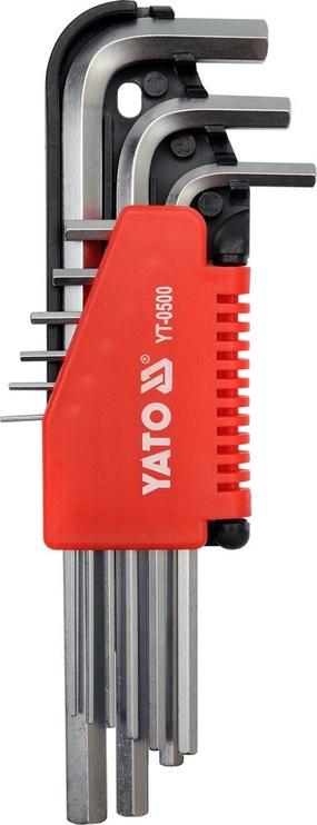 Yato YT-0500 HEX Key Set 9pcs
