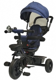 Tesoro BT-13 Baby Tricycle Black Navy Blue