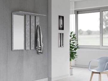 Top E Shop Opal Coat Hanger Concrete
