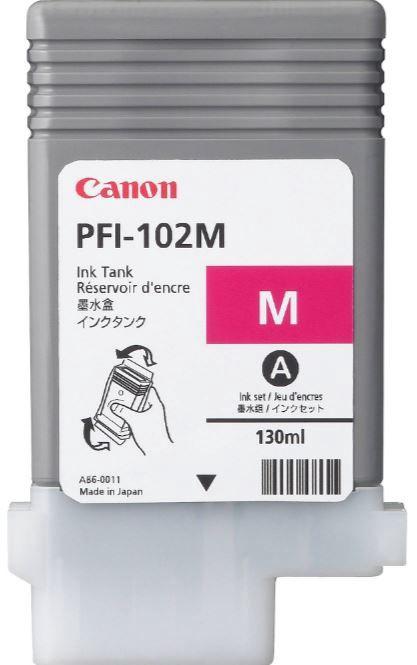 Rašalinio spausdintuvo kasetė Canon PFI102M Cartridge Magenta
