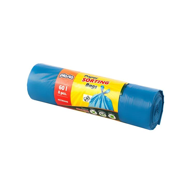 Atkritumu maisi Plasta 8300800M, 60 l, 8 gab.
