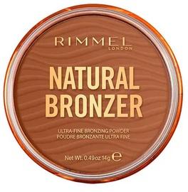 Bronzējošais pūderis Rimmel London Natural Bronzer 004 Sundown, 14 g