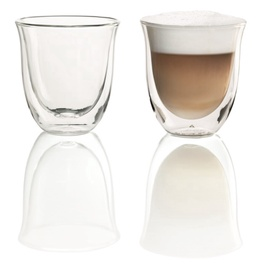 De'Longhi 2 Glass Cappuccino 190ml