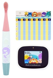 Marcus & Marcus Interactive Sonic Silicone Toothbrush Set Willo
