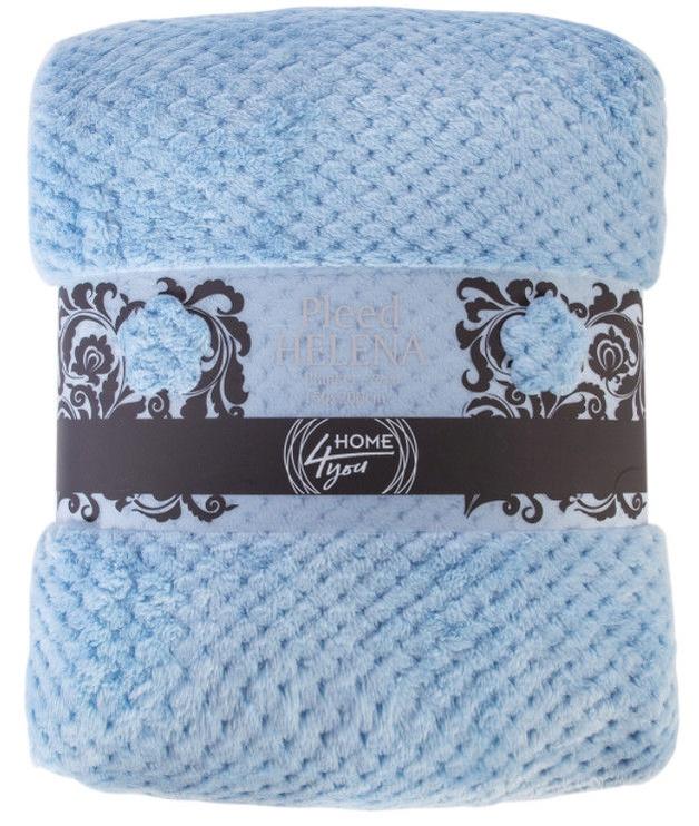 Home4you Helena Blanket 150x200cm Blue