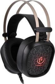 Ausinės Rebeltec Tornado Gaming Headphones Black