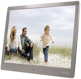 "Hama Digital Photo Frame 10.0"" Slim Steel Basic Silver"