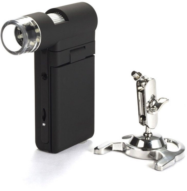 Levenhuk DTX 500 Portable LCD Digital Microscope 20-500x