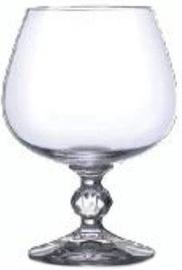 Bohemia Klaudie Cognac Glass Set 6pcs 25cl